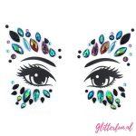 Steel sparkle – gezichtsticker