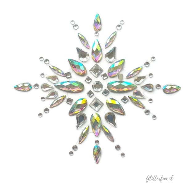 Shining star – festival body stenen