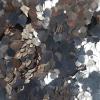 Champagne hexagon glitter - 1-3 mm