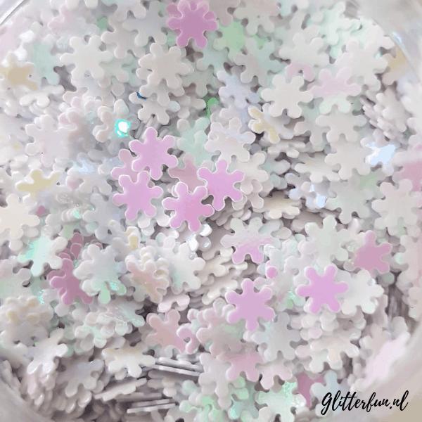 Sneeuwvlokjes glitter