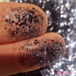 Zwarte glitter mix