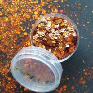 Koper mix glitter – hologram