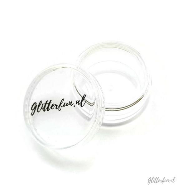 Leeg potje voor glitter – 10 ml