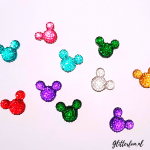 Mickey Mouse glitter steentjes
