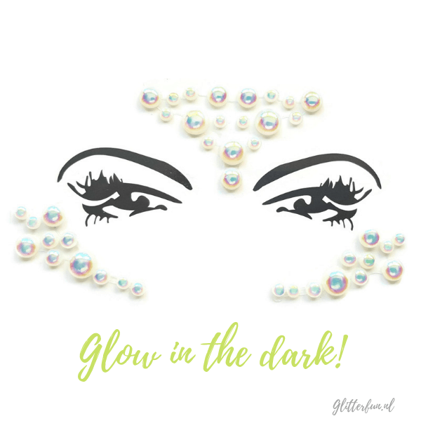 Glowy dots – gezichtssteentjes