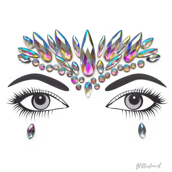 Glitter ice - face gems