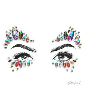 Glitsen – gezichtssticker