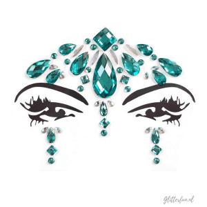 Mermaid dream – gezichtsjuweel