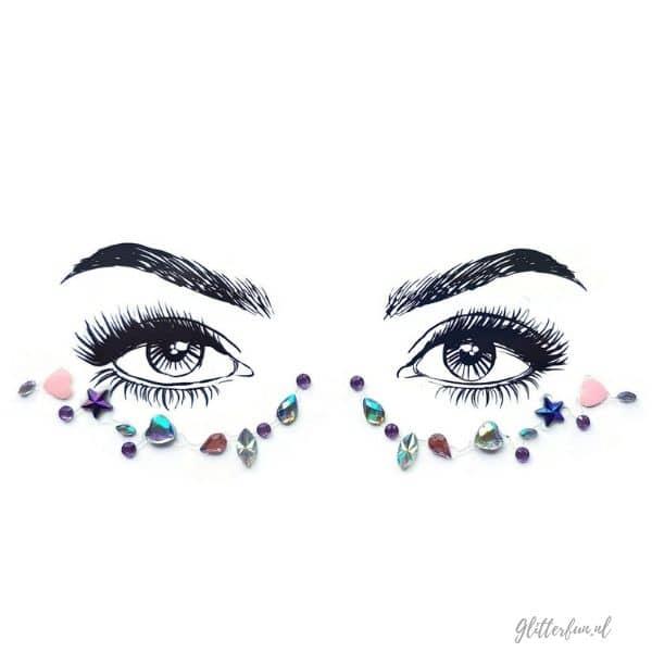 Cutie – festival face jewels