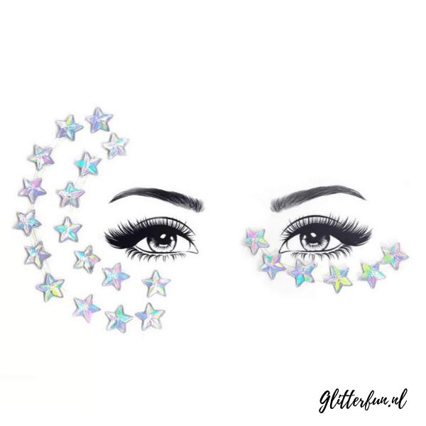 All stars - gezichtjuwelen