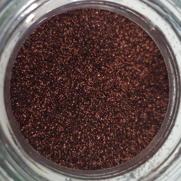 Bruine chocolade fijne glitter